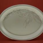 oval plate fg