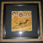 Framed Aboriginal Canvas Art