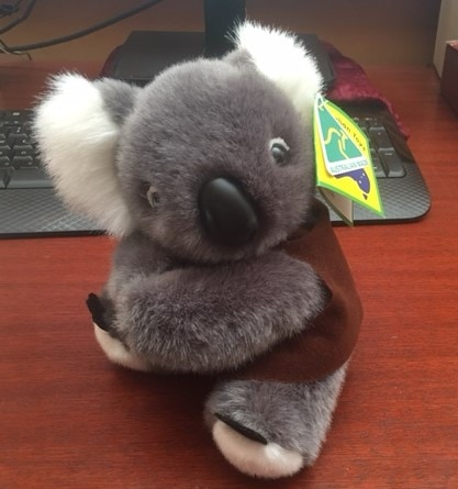 100% Australian made Koala - add your logo