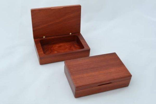 Australian jarrah Business Card Box