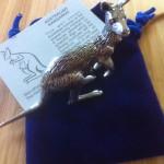 Pewter kangaroo