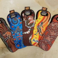 Wine-Bottle-Holder-Aboriginal-design-300x300