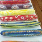 aboriginal glass design coolamons