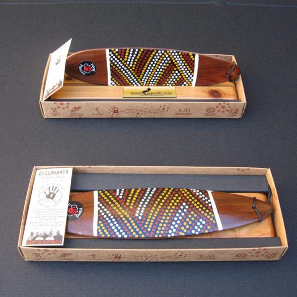 Boxed Aboriginal Bullroarer