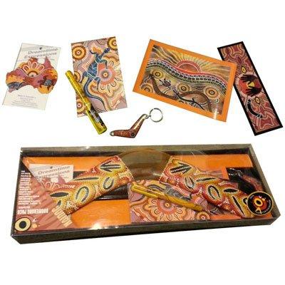 Boxed Aboriginal 18' Boomerang Gift pack