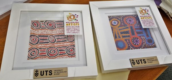Simply colourful Aboriginal corporate gift idea.
